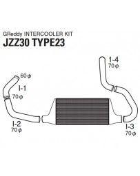 GReddy Type-23F Intercooler Kit Lexus SC300 / Toyota Soarer 2.5L 1992-2000