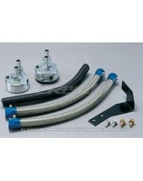 GReddy Oil Filter Relocation Kit M20 X P1.5 Hon. Maz. Sub. Mit.