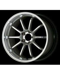 Advan Racing RZ-DF 18x9.5 +40 5-130 Machining Hyper Silver Wheel