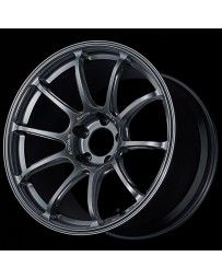 Advan Racing RZ-F2 18x10 +25 5-114.3 Racing Hyper Black Wheel