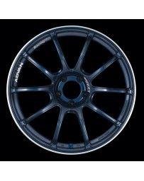 Advan Racing RZII 18x9.5 +45 5-100 Racing Indigo Blue Wheel