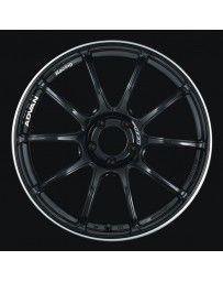 Advan Racing RZII 18x9.5 +45 5-100 Racing Gloss Black Wheel