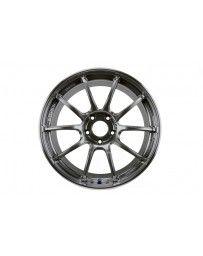 Advan Racing RZII 18x10.0 +25 5-114.3 Racing Hyper Black Wheel