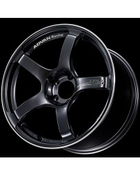 Advan Racing TC4 18x9.5 +35 5-114.3 Racing Black Gunmetallic and Ring Wheel