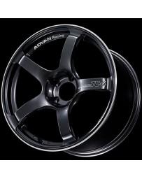 Advan Racing TC4 18x8.5 +45 5-112 Black Gunmetallic Wheel & Ring