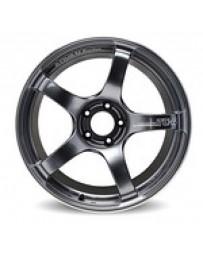 Advan Racing TC4 18x9.5 +45 5-114.3 Racing Black Gunmetallic and Ring Wheel