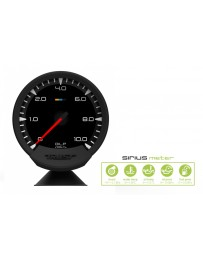 GReddy Sirius 74mm Oil Pressure Gauge