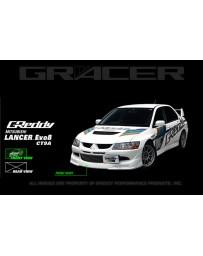 GReddy Gracer Front Lip Spoiler Mitsubishi EVO VIII 2003-2005