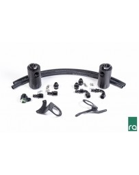 Radium Engineering 11-14 Ford Mustang GT Dual Catch Can Kit
