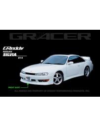 GReddy Front Lip Spoiler JDM (MC) Nissan Silvia 240SX S14 1997-1998