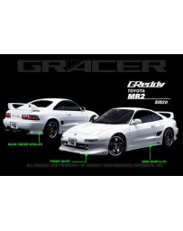 GReddy Gracer Rear Under Spoiler Toyota MR2 1990-1996
