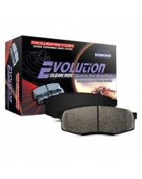Toyota Supra GR A90 MK5 Power Stop Evolution Clean Ride Ceramic Rear Disc Brake Pads