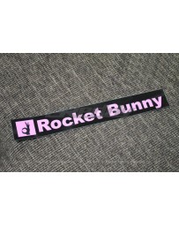 GReddy Rocket Bunny Sticker - Pink