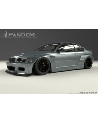 GReddy Pandem Blister Full FRP Wide-body Kit BMW E46 M3 Coupe 01-06