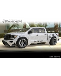 GReddy Pandem 20+ Nissan Titan Crew Cab Rocket Bunny Full Truck Aero Kit