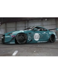 GReddy Rocket Bunny Full Wide-Body Aero Kit with Wing Nissan R35 GT-R R35 2009-2021