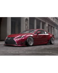 GReddy Full Rocket Bunny Wide Body Aero Kit Lexus RC F-Sport 2015-2017