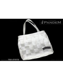 GReddy Pandem Woven Harness Style Hand Bag - White