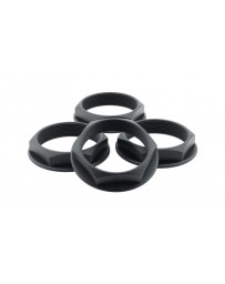 fifteen52 Super Touring (Chicane/Podium) Hex Nut Set of Four - Anodized Black