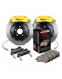 350z Z33 HR StopTech Front BBK ST40 332x32 Slotted Rotors Yellow Calipers
