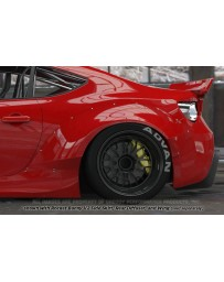 GReddy Rocket Bunny Version 2 Rear Fenders Subaru BRZ / Scion FRS / Toyota GT-86 2013-2015