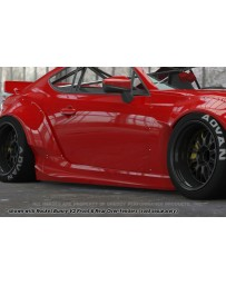 GReddy Rocket Bunny Version 2 Side Skirts Subaru BRZ / Scion FRS / Toyota GT-86 2013-2015