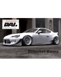 GReddy Rocket Bunny 86 Aero, Ver.2 - Dai Canard Option Scion FR-S 2013-