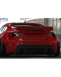 GReddy Rocket Bunny Version 2 Duck Tail Wing Subaru BRZ / Scion FRS / Toyota GT-86 2013-2015