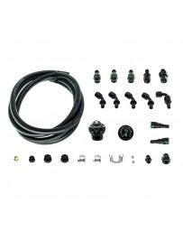 Radium Engineering 08-Up WRX/STi Subaru EJ Fuel Rail Plumbing Kit - Parallel