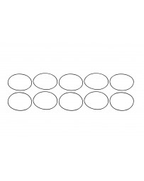 Aeromotive Replacement O-Ring (for 12308/12317/12318/12319) (Pack of 10)