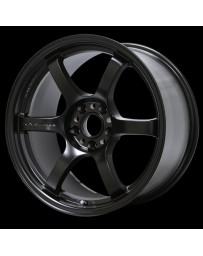 Gram Lights 57DR 15x8.0 +28 5-114.3 Semi Gloss Black Wheel