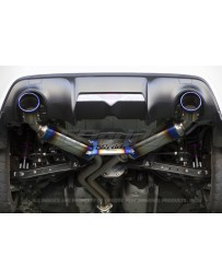GReddy Super Street Titan Ti Exhaust Scion FR-S 2013-16