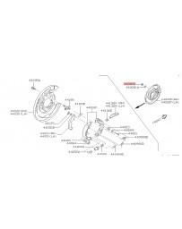 300zx Z32 Nissan OEM Nut - Rear E-Brake Support