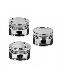 350z DE Manley 81.4mm Stroker 95.5mm Std Bore 8.5:1 Dish Piston Set with Rings