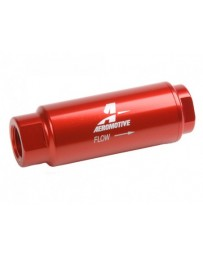 Aeromotive SS Series In-Line Fuel Filter - 3/8in NPT - 40 Micron Fabric Element