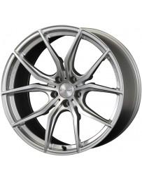 Gram Lights 57FXX 18x8.5 +45 5-100 Sunlight Silver Wheel