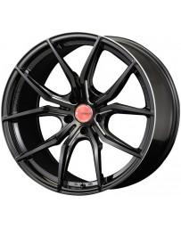 Gram Lights 57FXX 18x9.0 +45 5-100 Black & Machining Wheel