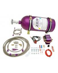 350z DE ZEX Nitrous System Purple