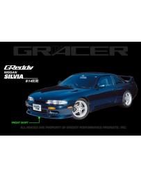 GReddy Gracer Front Lip Spoiler Nissan 240SX S14 1995-1996