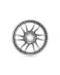 Gram Lights 57XTC 18x9.5 +38 5-100 Shining Silver / Diamond Cut Wheel