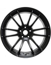 Gram Lights 57XTREME 18x9.5 +40 5-114.3 Semi Gloss Black Wheel