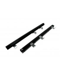 Aeromotive Fuel Rails - Chrysler 8.4L V10 Gen 4 - Black anodized