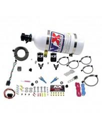 Nitrous Express 03-18 Nissan 350z Z33 370z Z34 Dual Nozzle (35-150HP) w/Composite Bottle