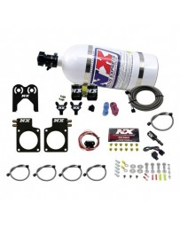 R35 GT-R Nitrous Express Nissan Nitrous Plate Kit (35-300HP) w/Composite Bottle