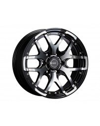 SSR Devide ZS Wheel 17x8.0 6x139.7 20mm Ash Black