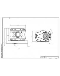 Aeromotive Spur Gear Fuel Pump 18GPM / .850 Gear / 3/8 Hex