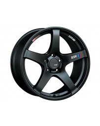 SSR GTV01 Wheel Matte Black 18x9.5 5x114.3 22mm