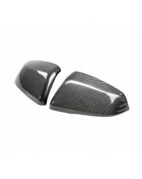 Toyota Supra GR A90 MK5 Seibon Carbon Fiber Mirror Caps