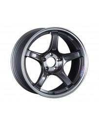 SSR GTX03 Wheel 17x7 4x100 42mm Black Graphite