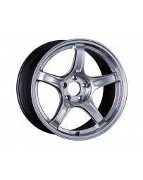 SSR GTX03 Wheel 17x7 5x114.3 42mm Platinum Silver